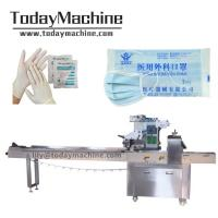 China Clear Disposable Plastic Gloves Autotomatic Packing Machine on sale