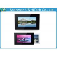 China White / Black 8 Inch TFT LCD Wireless Digital Picture Frame For Adertisement on sale