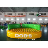 China Large Towable Inflatables For Water Park , 4 - 6 Person Surfing Ufo Towable Tubes Boating on sale