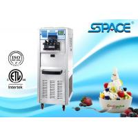SPACE Commercial Soft Ice Cream Machine With 3 Flavors CE ETL Approved Manufactures