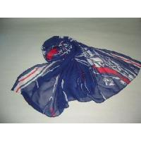 Hot Items Sailing Boat Printed Polyester Scarves (HP-4500) Manufactures