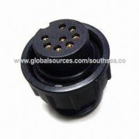 China IP65 8-pin Waterproof Adapter Cable with Middle-sealed Circular DIN Connector Plug Jack on sale