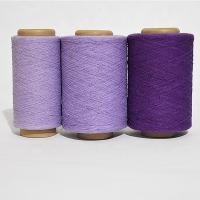 Ne 21s/1 recycled polyester cotton yarn for knitting and machine weaving blended yarn Manufactures