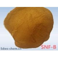 China Sodium Naphthalene Sulphonate Formaldehyde Light brown concrete water reducer admixture with solids content 92% Min on sale
