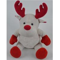 Promotion Gifts Moose Reindeer Custom Plush Toys With 100% PP Cotton Fabric Manufactures