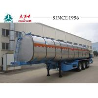 35 CBM 40 Tons Bitumen Tanker Trailer, Asphalt Trailer With Burner Manufactures