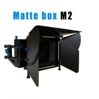 High quality Camcorder Tripod Stabilizers Heavy pad video camera 2-Stage Matte Box Manufactures