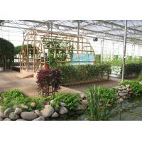 China Fish Farming Garden Glass Greenhouse Strong Drainage Capacity 8m*4m Dimension on sale