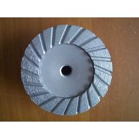 China Turbo Type Diamond Cup Grinding Wheel Discs For Concrete / 4 Inch Grinder Wheels on sale