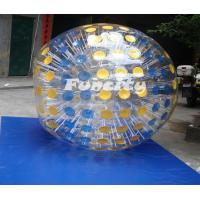 China Colorful 0.8 / 1.0MM PVC / TPU Land / Grass Inflatable Zorb Ball for Kids and Adults on sale