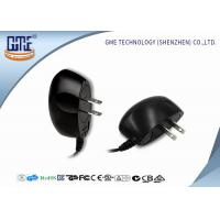Black 100-240v Ul Plug Wall Mount Power Adapter Ac Dc 3v 1a 4v 1.2a 5v 1a Manufactures