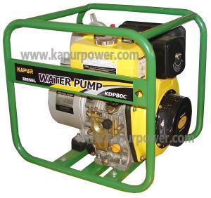 "Diesel High Pressure Pump Set 1.5"" Two Impeller Manufactures"