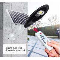Smart Control Solar Powered LED Street Lights 3000 - 6500K CCT Easy Install Manufactures
