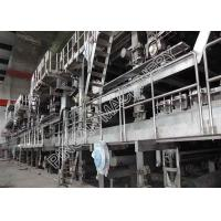 High Grade Newspaper Making Machine Eco - Friendly From Waste Paper Recovery Manufactures