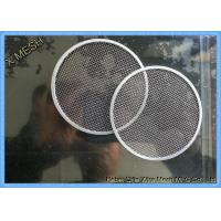 China Filter Disc Metal Wire Mesh , T316 Stainless Steel Mesh Cloth Gas Filtration on sale