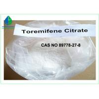 Bodybuilding Raw Steroid Powders Toremifene Citrate For Cancer Treatment Manufactures