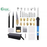 38pcs Wood Burning Kit For Wood Burning / Carving / Embossing / Soldering With Case Manufactures