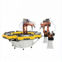 China Hwashi automatic CNC 6 axis industrial robotic arm welding robot, robotic welding machine for steel/SS/Aluminum on sale