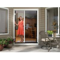 China Mosquito out Free chain DIY accordion nets sliding fly screen door on sale