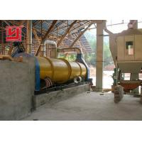 China High Capacity Fly Ash Rotary Dyer Machine 8-15t/h Low Energy Consumption on sale