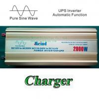 2000W Power Inverter Pure Sine Wave with UPS 12V DC to 220V AC Converter Car inverters AC Adapter Power Supply Meind Manufactures