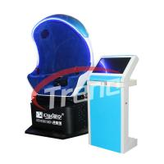 Dynamic Shooting Game 9D Action Cinemas Mini Seat  With Rotating Platform Manufactures