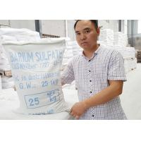 Industrial Barium Sulfate Powder CAS 7727-43-7 For Plastic Filler Masterbatch Manufactures