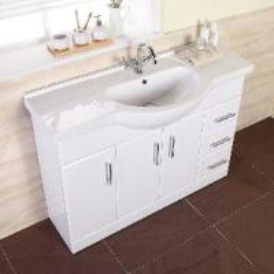 MDF Bathroom Vanity / Cabinet / Furniture (MARCELLA 1200) Manufactures