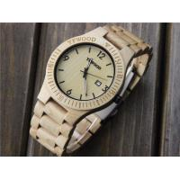2018 Luxury personalized wooden wrist watch and wooden chronograph watch with real wood Manufactures