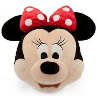 Black And Pink Big Disney Minnie Mouse Head Cushions Pillows For Bedding Manufactures