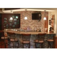 Restaurant Prefabricated Custom Bar Countertops With Natural Marble Premade Bar Tops Manufactures