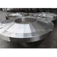 ST52 ST60-2 Carbon Steel Forged Rings Flanges Heat Treatment Manufactures