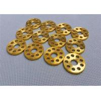 Gr5 Hollow Titanium Gasket Washer Exhaust Washer Gold Color M6 O Ring Manufactures