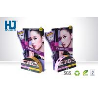 China Corrugated Advertising point of purchase display boxes IN Cosmetics Mascara on sale
