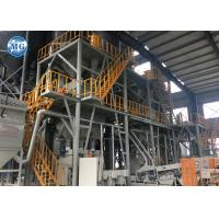 12t/H Dry Mortar Production Line Electric Control Semi Automatic System Heavy Duty Manufactures