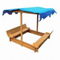 China Children's Canopy Sandbox, Customized Sizes are Accepted on sale