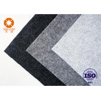 China Breathable Non Woven Felt Hat Materials Nonwoven Polyester Industrial Felt Fabric on sale