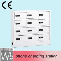 China Indoor Self-Service Cell Phone Charging Station Multi Phone Charging Vending Machine on sale
