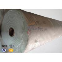 155 Width Glass Fiber Fireproof Fiberglass Fabric for Welding Blanket , Filter Bags Manufactures