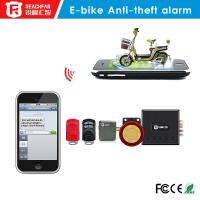 Mini gsm/gprs gps tracker Electric bicycle anti-theft alarm system SMS and phone alarm Manufactures