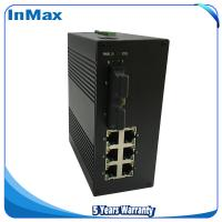 Managed networking Switch, Layer 2 8 Port 100M Din-Rail Optical fiber ethernet switch Manufactures