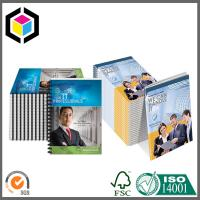 Spiral Binding Color Printing Catalogue; Custom CMYK Full Color Paper Catalog Manufactures
