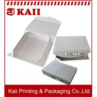 China Folded Paper Gift Box Packaging / Printed Gift Boxes With 1000g Grey Card + 157g Art Paper on sale