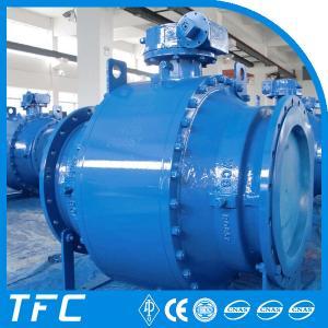 Quality trunnion moutned DBB API 6D ball valve for sale