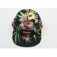 Florescent Patch Logo Printed Baseball Caps / Hats For Lady , Multi Color Manufactures