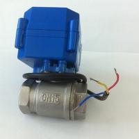 2/3/5 Wiring Control Motorized Mini Ball Valve Manufactures