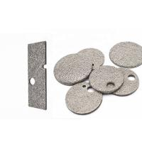 Sintered Metal Fiber Felt Filter Disc With Excellent Permeability Manufactures