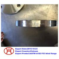 China UNS S32750 2507 1.4410 ASTM A182 F53 blind flange on sale