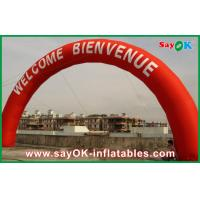 Height 5m Inflatable Arch With Logo Printing  For Holiday Decorations Manufactures