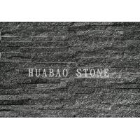 Black Galaxy Slate Cultured Stone Panels For Interior Exterior Wall Cladding Manufactures